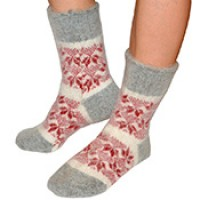 Носки из ангорской шерсти