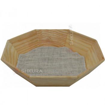 Деревянная тарелка 24