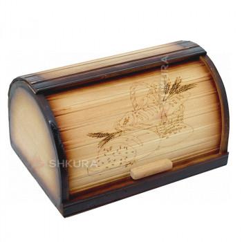 Хлебница деревянная 15
