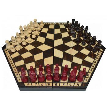 Шахматы на троих, 38х42 см