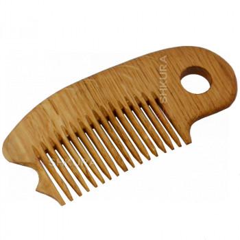 Деревянная расческа Д02