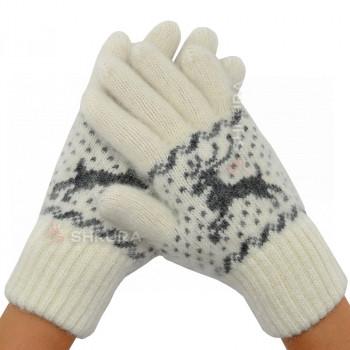Женские перчатки, удлиненные 14