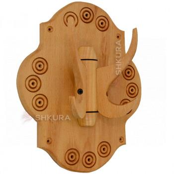 Настенная вешалка из дерева Б01