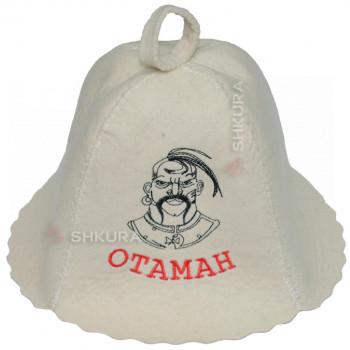 """Шапка для бани """"Отаман"""""""