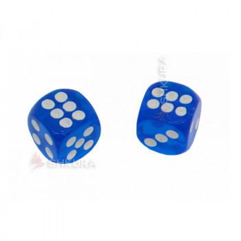 Игральные кости, 14 мм. Синие