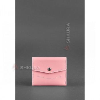 Женский кожаный кошелек 2.1 Розовый