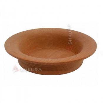 Деревянная тарелка 14. Глубокая