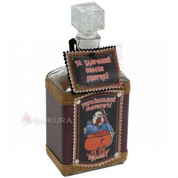 Декоративная бутылка 0,5 л. 92