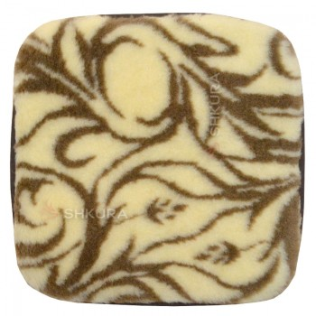 Накидка на стул из шерсти, арабеска