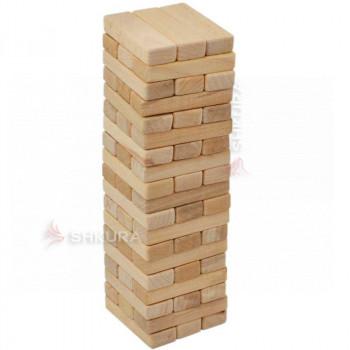"""Настольная игра  """"Дженга"""", 57 блоков"""