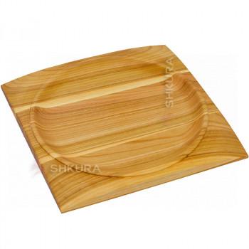 Квадратная тарелка 30х30 см