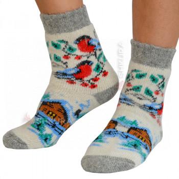 Носки из ангорской шерсти, женские 16