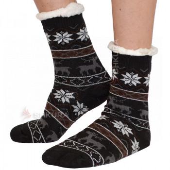 Термо носки с подошвой, мужские 05