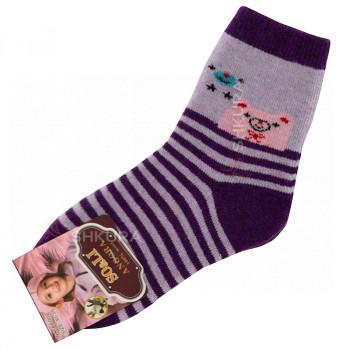 Детские носки из ангорской шерсти 02