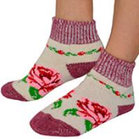 Укороченные шерстяные носки