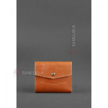 Кожаный кошелек 2.1 светло-коричневый
