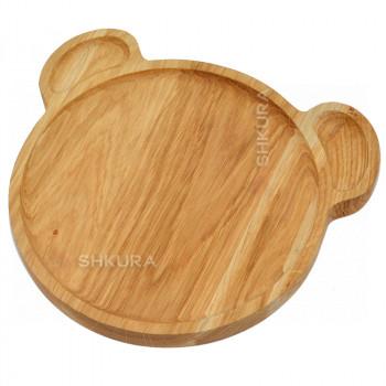 Доска для подачи блюд. Медведь