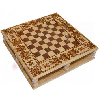 Шахматная доска 60х60х14 см