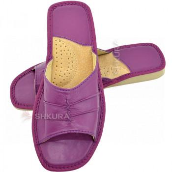Тапочки женские летние, ШВН02. Фиолетовые