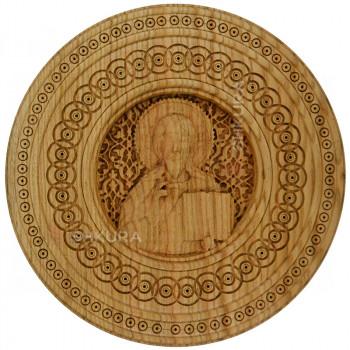 """Резная икона """"Христос Спаситель"""" 33 см"""
