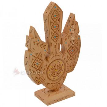 Настольный герб Украины К09