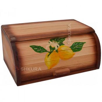 """Хлебница деревянная """"Лимон"""""""