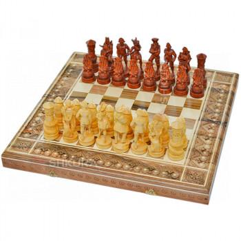 "Шахматы 3 в 1""Пираты Карибского моря"" 50х50 см."