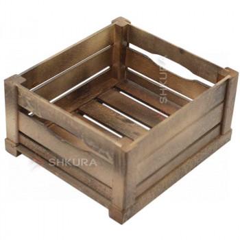 Деревянный ящик 02. Орех