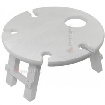 Винний столик. Білий