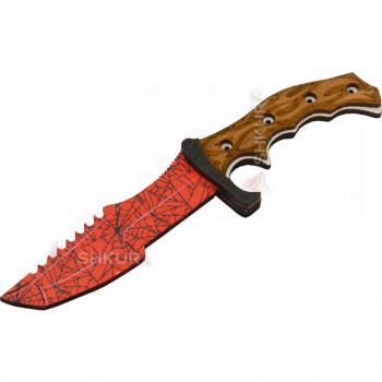 """Деревянный нож """"Охотничий"""" CS, цветной"""