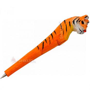 """Деревянная ручка """"Тигр"""""""