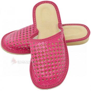 Тапочки женские летние, ШВБ1. Розовые