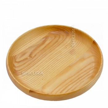 Деревянная тарелка М05