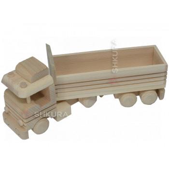 Автомобиль-тягач с прицепом