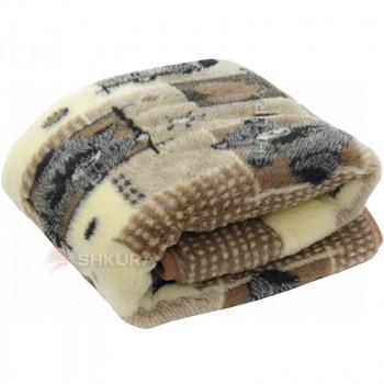 Детское шерстяное одеяло. Мишки