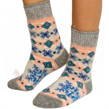 Носки из ангорской шерсти, женские 24