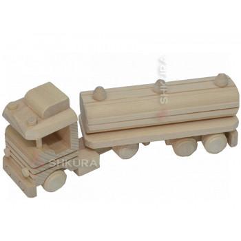 Автомобиль-тягач с цистерной