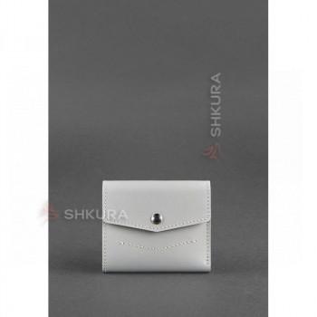 Женский кожаный кошелек 2.1 Серый