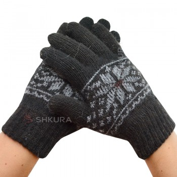 Мужские зимние перчатки 14