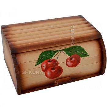 "Хлебница деревянная ""3 вишни"""