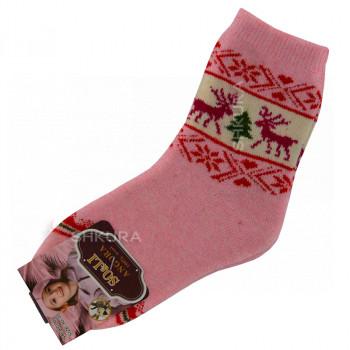 Детские носки из ангорской шерсти 01