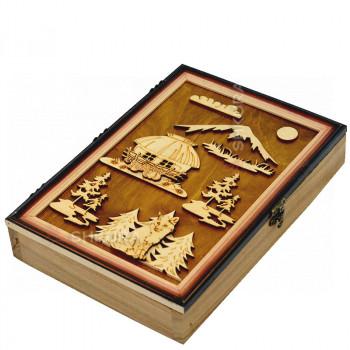Шкаф для ключей 10. Лиса