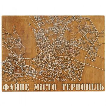 """Настенный декор """"Файне місто Тернопіль"""""""
