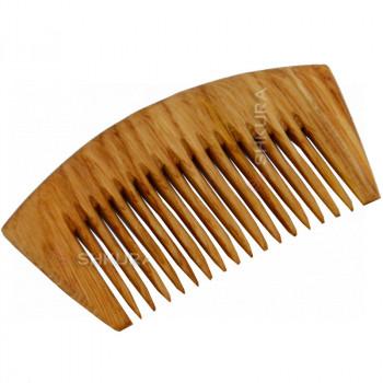Деревянная расческа Д01