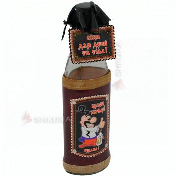 Декоративная бутылка 0,5 л. 06