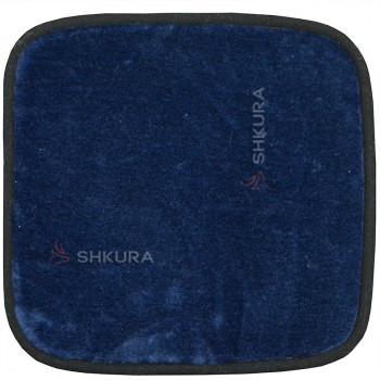 Накидка на стул из шерсти, синяя
