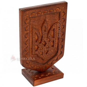 Настольный герб Украины В01