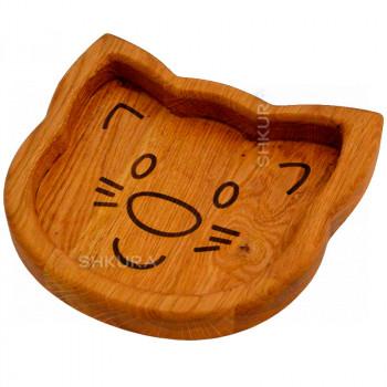 Доска для подачи блюд. Кот