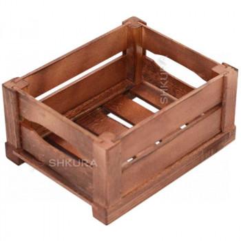 Деревянный ящик 03. Вишня