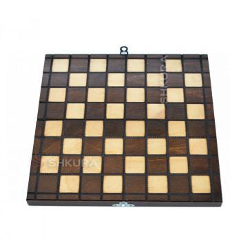 Шахматная доска. 25х25 см